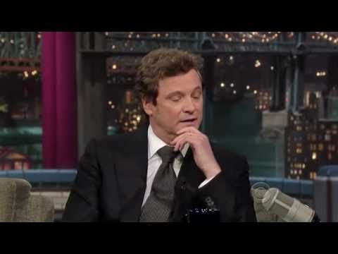 Colin Firth on Letterman (11/23/2010)
