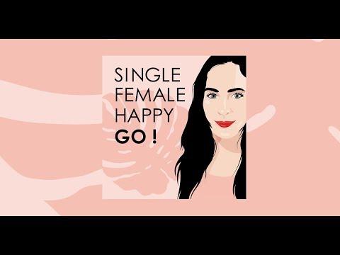 Frau single glucklich