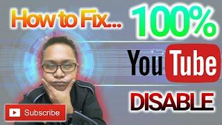 Cara Enable Semula Akaun YouTube  l Must Watch!!!