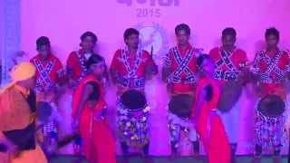 GONDI SAILA DANCE MAHARASHTRA | NATIONAL TRIBAL FESTIVAL VANAJ: 2015