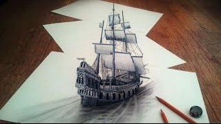 The Amazing Pencil Drawn Illusions of Ramon Bruin