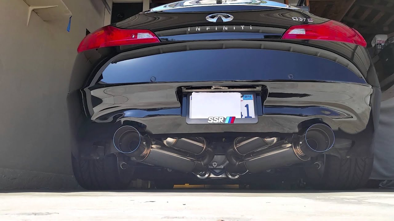 g37 exhaust guide top picks for coupes