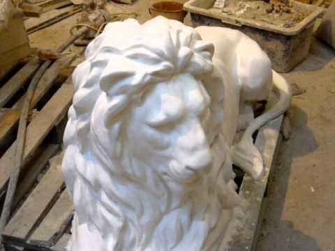 Сделать статую из гипса