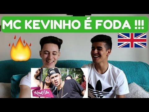 GRINGOS REAGINDO  AO MC Kevinho - O Grave Bater (KondZilla) (REACTION)!!!