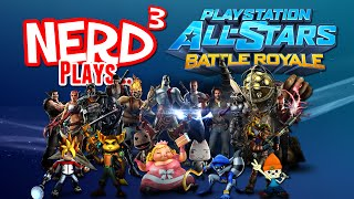Nerd³ Plays... PlayStation All-Stars Battle Royale with Cheese