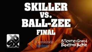 Grand Beatbox Battle - Final - Skiller vs. Ball-Zee