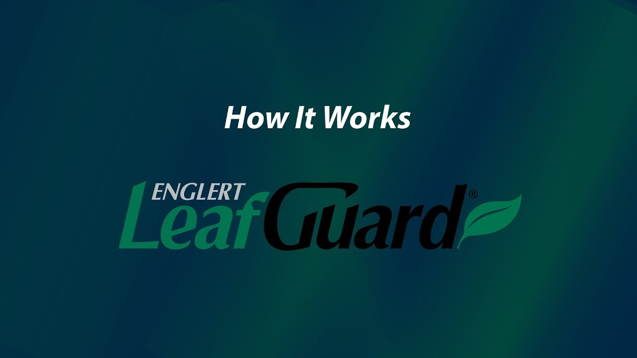Byers Leafguard Gutter Systems How It Works Gutters Work