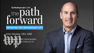 AT&T CEO John Stankey on 5G, artificial intelligence & more (Full Stream 12/4)