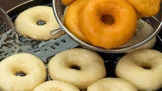 Rosquillas (Donas) esponjosas rápidas y deliciosas  | Gustoso TV