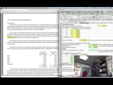 Valuation Tools Webcast #4: Capitalizing Leases