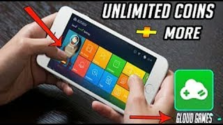 GLOUD GAMES HACK APK UNLIMITED TIME !