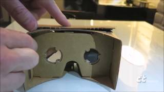 Virtual-Reality-Brille zum Falten: Google Cardboard