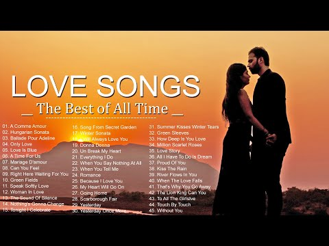 Greatest 500 Relaxing Beautiful Love Songs 70's 80's 90's   Best Romantic Love Songs Collection