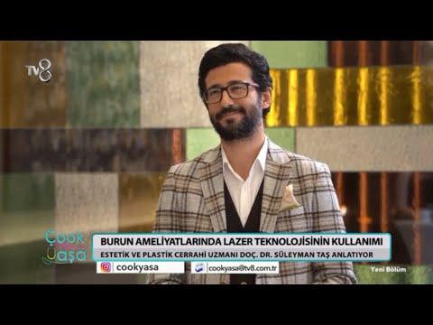 TV8 Çook Yaşa | Burun Estetiği Öncesi ve Sonrası Lazer Teknolijisi