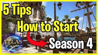 Atlas PVP - 5 Tips on how to start Season 4 YouTube Videos