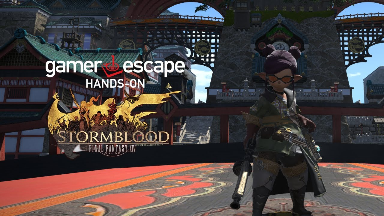 final fantasy xiv stormblood machinist gameplay youtube