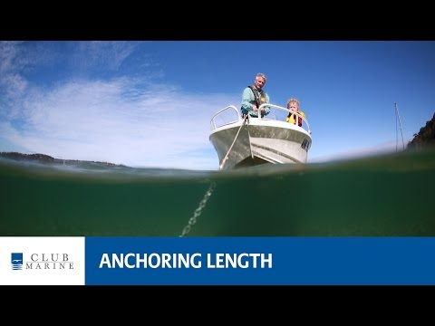 Anchoring length - how much rope and chain to let out