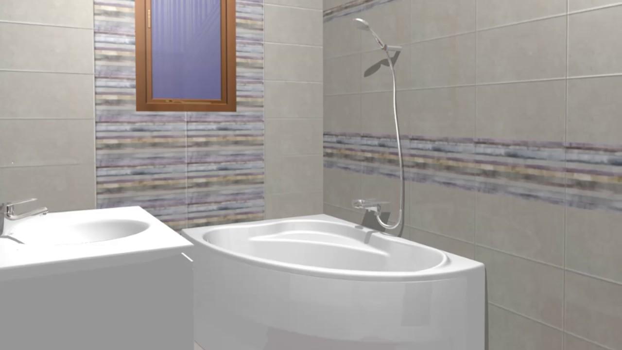 Model de design baie gresie si faianta colectia limestone for Gresie si faianta baie