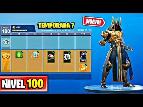 8a2e687b6a TEMPORADA 7** SKIN NIVEL 100 con TODO COMPRADO! en FORTNITE: Battle ...