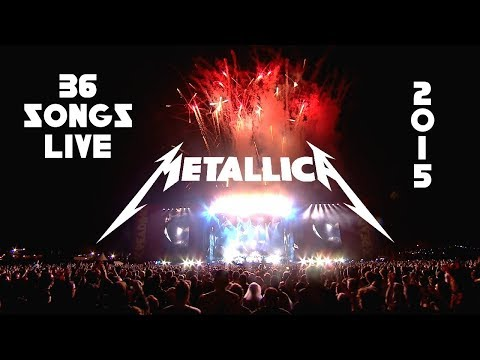 Every Song Metallica Played Live in 2015