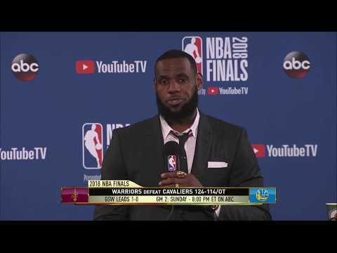 LeBron James   Game 1 NBA Finals Press Conference