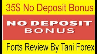 35$ No Deposit Bonus Fortfs Broker | Review by Tani Forex In Urdu and Hindi