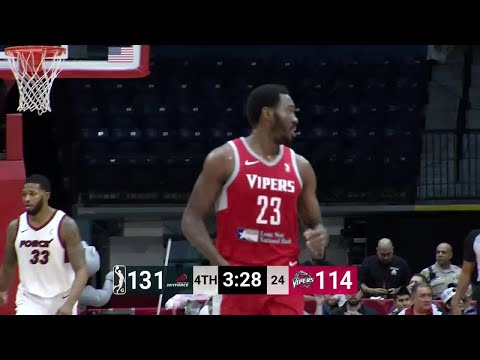 RJ Hunter Posts 35 points & 13 rebounds vs. Sioux Falls Skyforce