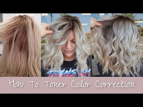 How To Toner Color Correction