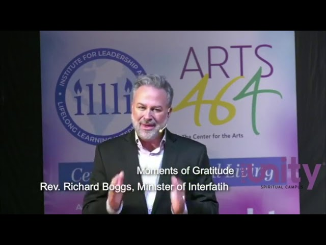 Rev. Richard Boggs - Moment of Gratitude