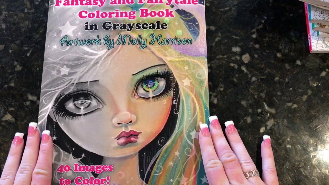 AN EPIC COLORING BOOK HAUL
