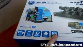 A Quick Look and Review of the HomeGuard Pro HD 720p 1TB CCTV Kit