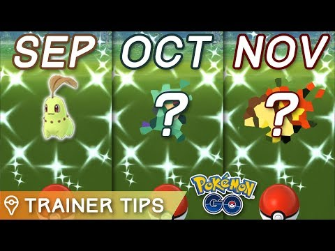 NEXT THREE COMMUNITY DAYS ANNOUNCED IN POKÉMON GO!