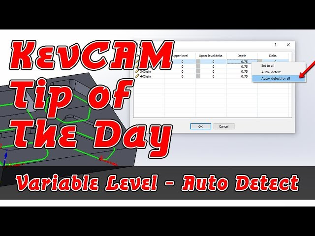 Tip of the Day - Variable Level - Auto Detect
