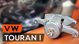Hogyan cseréljünk Felfüggesztés TOURAN (1T3) - lépésről-lépésre videó útmutató