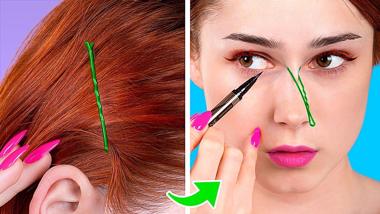 Kami Uji Trik Rambut Dan Makeup Yang Viral Di Tiktok