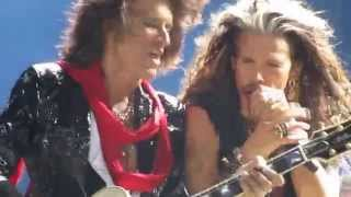 Aerosmith - Oh yeah (part) live in Moscow, 24/05/2014