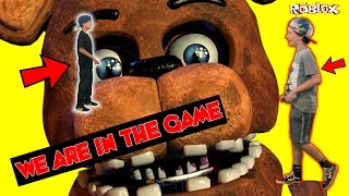 Five Nights at Freddy's in Chuck E Cheese Roblox Blind Boxes - Jayden is in the Roblox Game