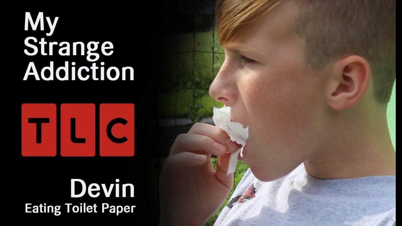 My Strange Addiction: Eating Toilet Paper