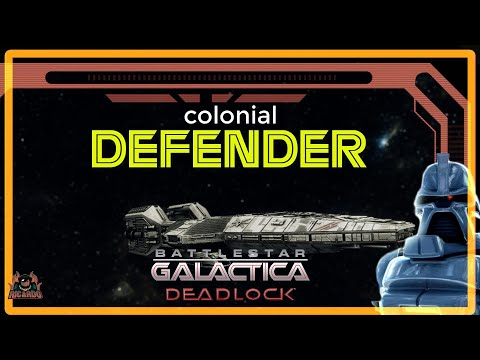 Ghost Fleet Offensive COLONIAL DEFENDER Battlestar Galactica Deadlock