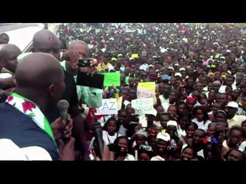 Manifestação Guiné-Bissau 17 Agosto 2015