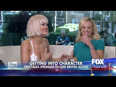 Rita Ora - Fox & Friends Interview