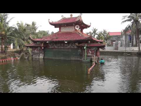 Phường nghệ thuật múa rối nước làng Nhân Mục, xã Nhân Hoà, huyện Vĩnh Bảo