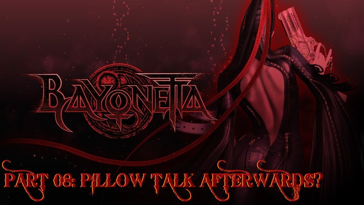Bayonetta Pillow Talk