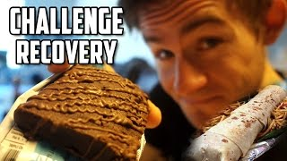 EATING CHALLENGE RECOVERY   DAY AFTER   GROCERY HAUL