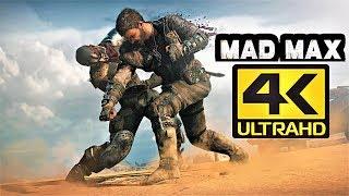 [4K] MAD MAX on GTX 1060 - 4K ULTRA HD - HIGH SETTINGS