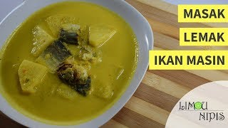 For video recipe in english, please watch it here: https://www.youtube.com/watch?v=B2USLbdtAIo Resepi: - 70g ikan masin (ikan talang) - 400ml santan segar ...