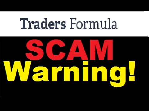 Traders Formula Review - Serious Trading SCAM (Warning)