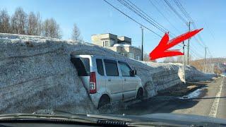 Что творится на дорогах Авто приколы неудачи и необычные случаи на дороге 9
