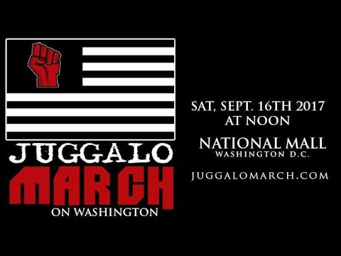 Juggalo March on Washington DC - The Juggalo Show 2017