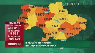 Коронавірус в Украі ні статистика за 9 листопада